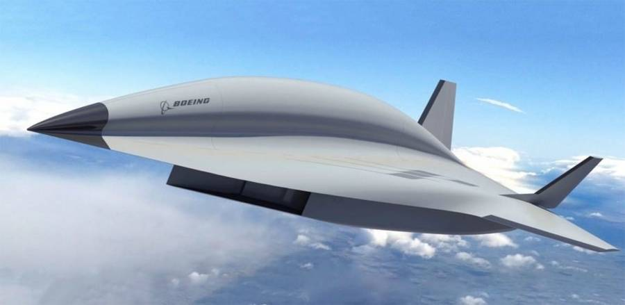 Boeing hypersonic fighter jet
