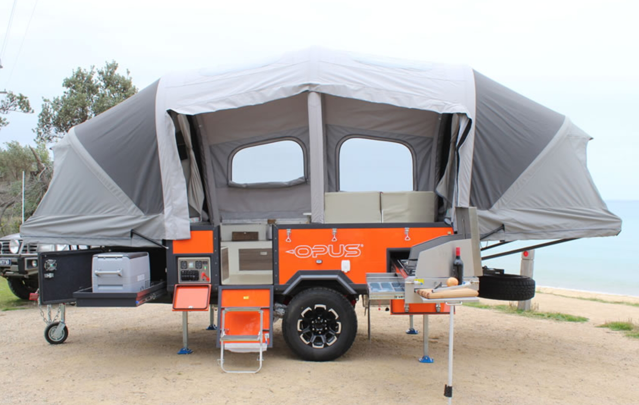 Air Opus revolutionary inflatable camper