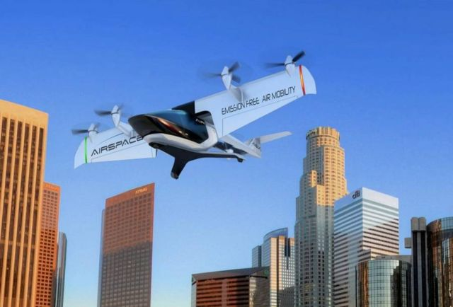 AirSpaceX's Autonomous Electric Flying Taxi