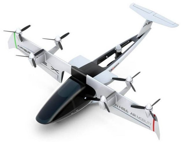 AirSpaceX's Autonomous Electric Flying Taxi (4)