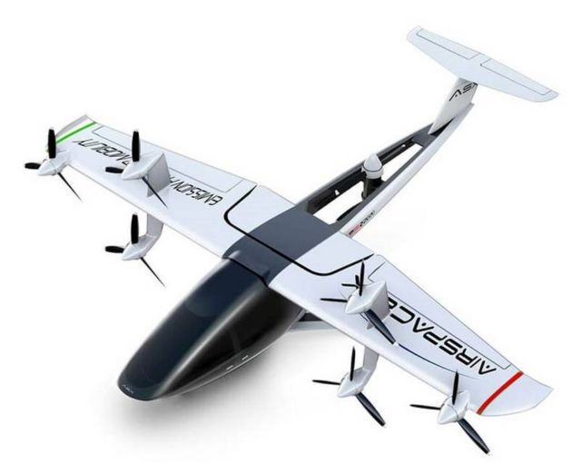 AirSpaceX's Autonomous Electric Flying Taxi (3)
