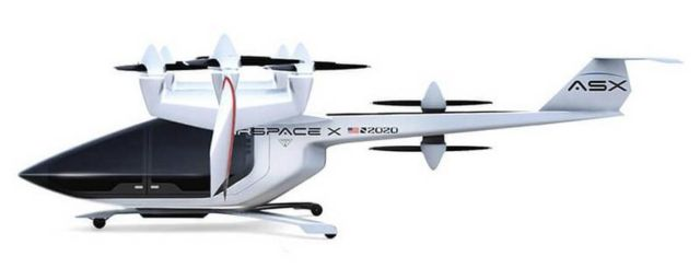 AirSpaceX's Autonomous Electric Flying Taxi (2)