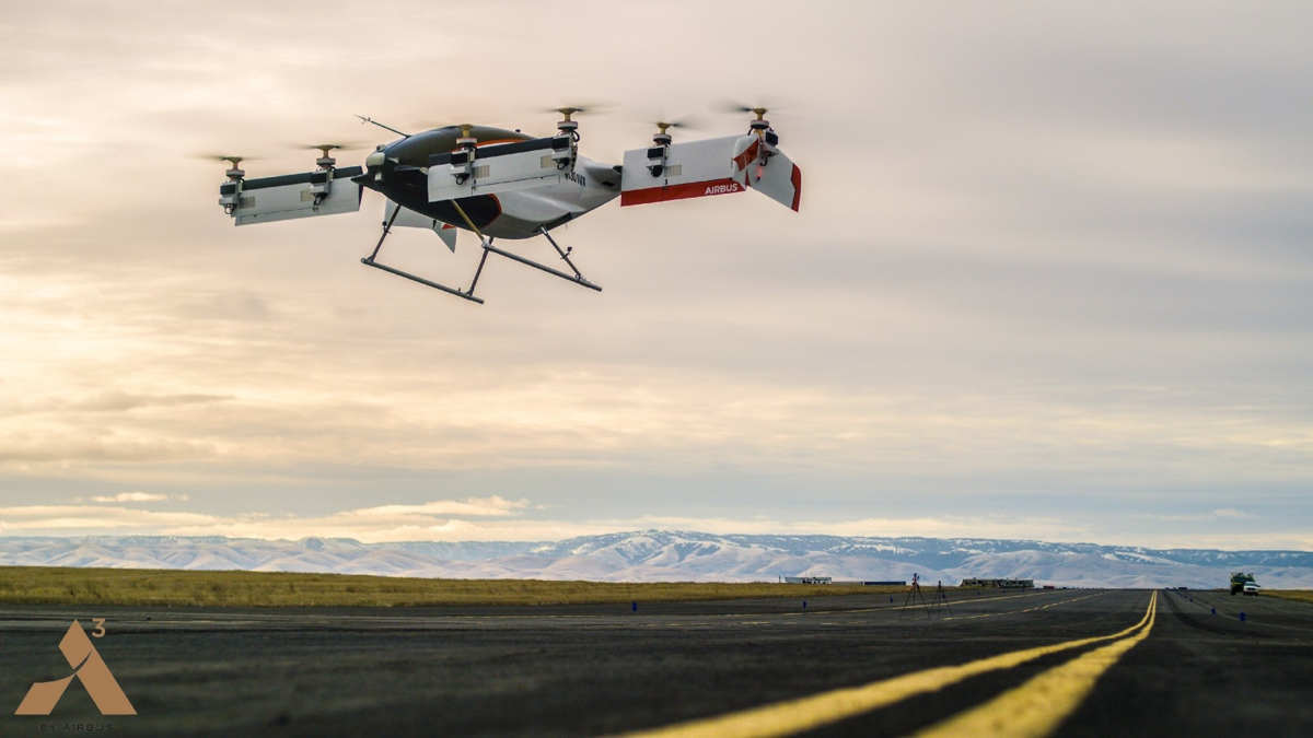 Airbus' drone taxi flies for the first time