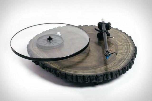 Audiowood Barky Turntable