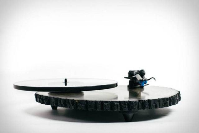 Audiowood Barky Turntable (2)