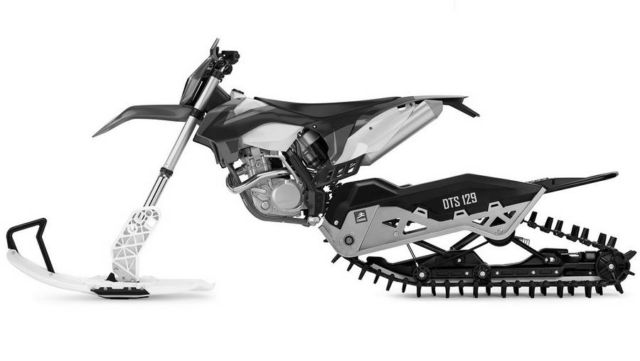 Camso DTS 129 Snow Bike Conversion Kit