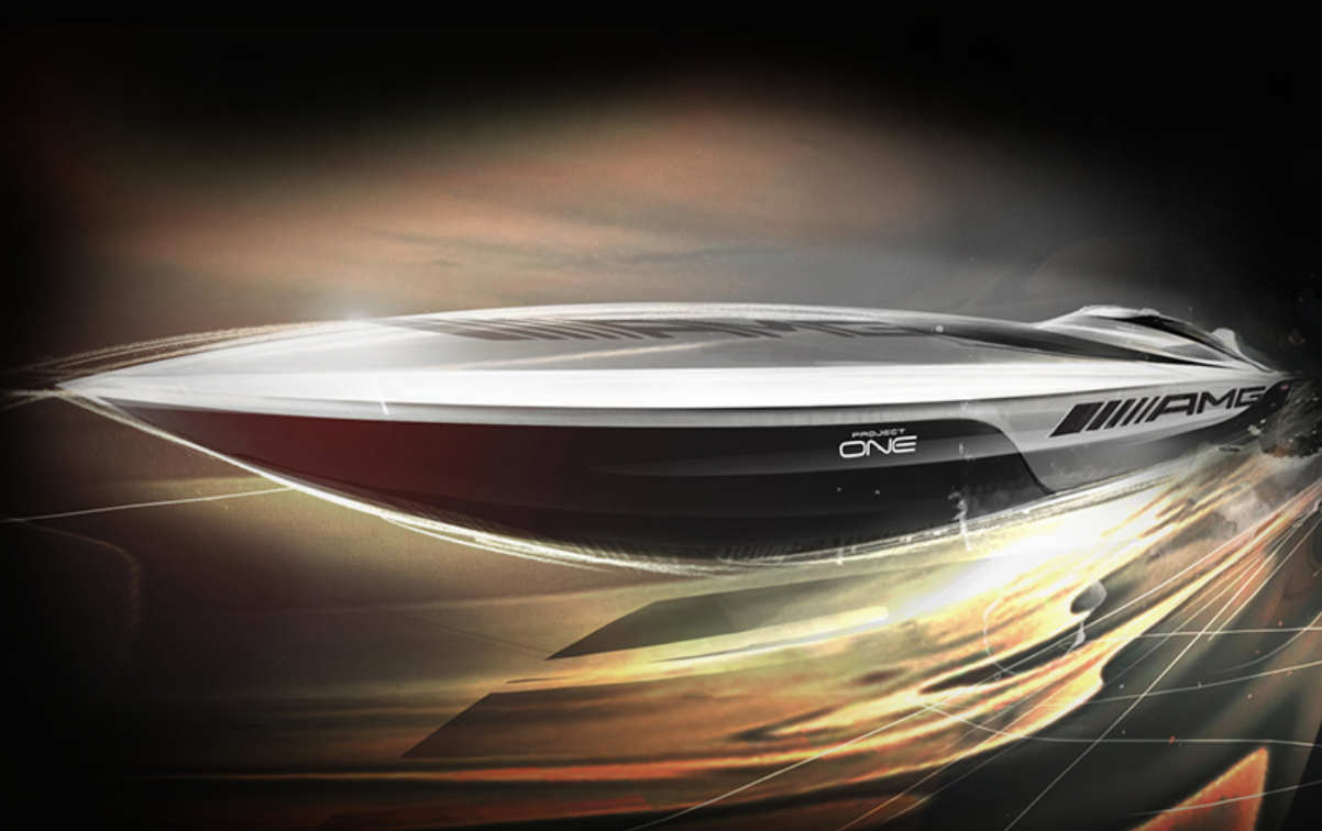 Cigarette Racing 515 Project One speedboat