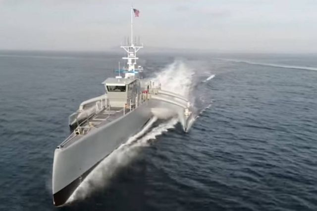 DARPA completed the development of autonomous Sea Hunter