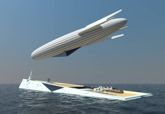 Dare to Dream Superyacht with Airship (5)