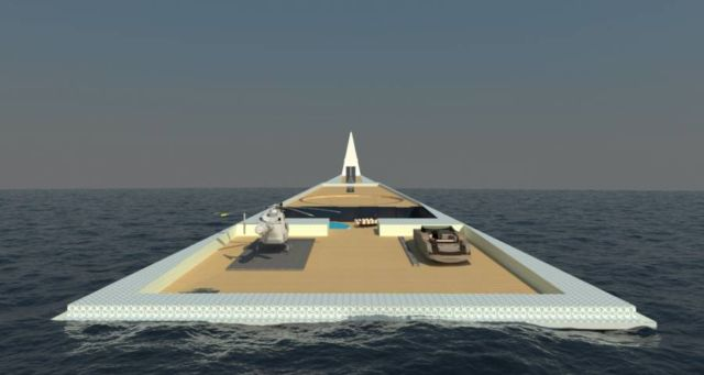 Dare to Dream Superyacht with Airship (2)