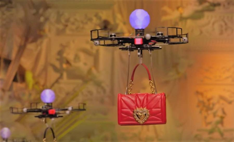 Drones present Dolce & Gabbana's new Bags