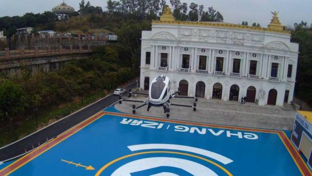 EHang 184 Autonomous passenger Drone (3)