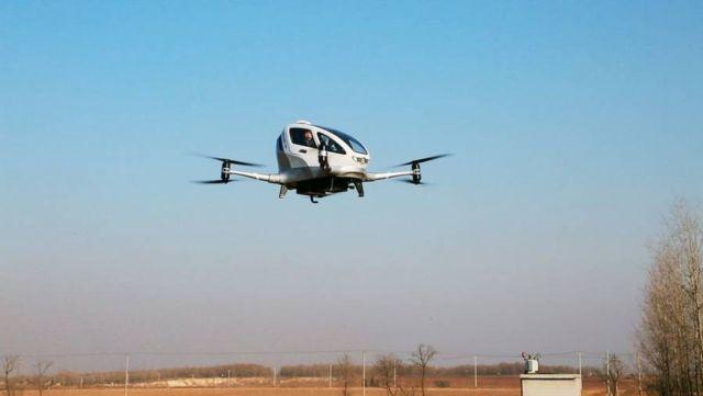 EHang 184 Autonomous passenger Drone (2)