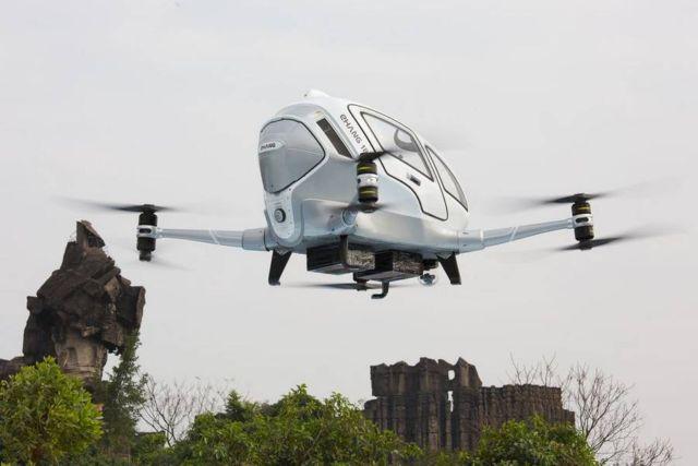 EHang 184 Autonomous passenger Drone (1)