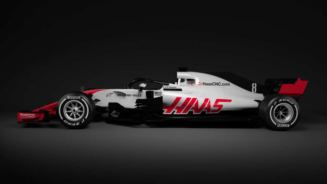 First Halo-equipped F1 race car (1)