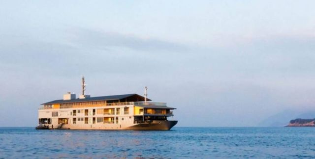 Guntu Luxury Japanese Floating Hotel