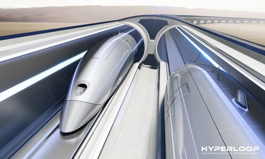 Hyperloop Transportation Technologies pods