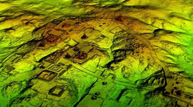 Laser Scans Reveal Maya 'Megalopolis'