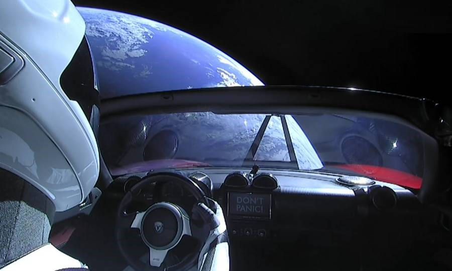 Live Views of Starman
