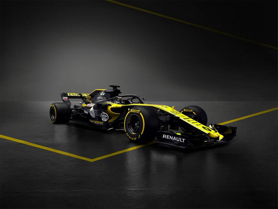 New Renault Sport Formula One Team car
