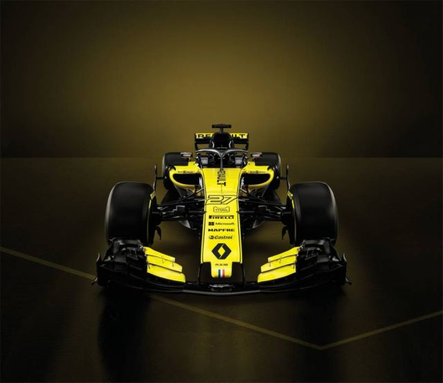 New Renault Sport Formula One Team car (2)