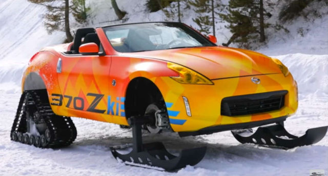 Nissan 370Zki Snowmobile