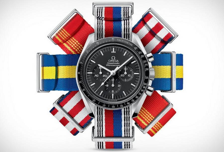 Omega new 'NATO' Flag Straps