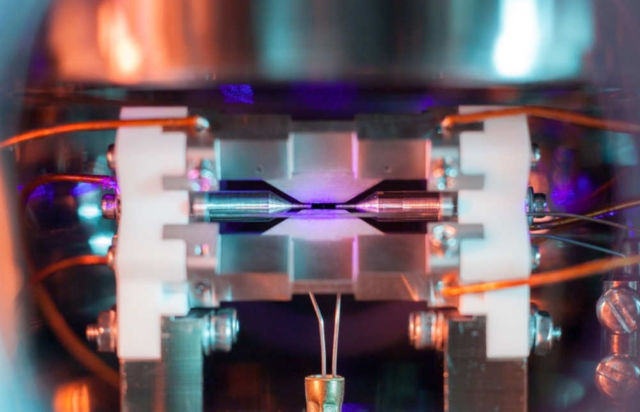 Picture of Single Trapped Atom