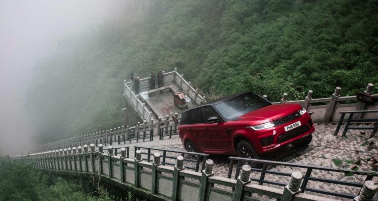 Range Rover Sport – 999 steps Dragon Challenge