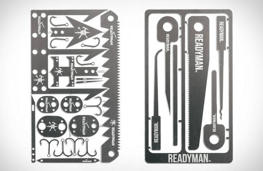 Readyman Survival Cards (4)