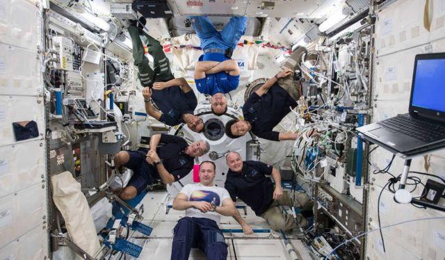 Six Astronauts' Portrait