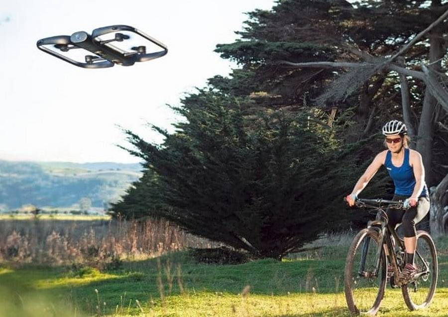 Smart companion Drone equipped with Auto-follow