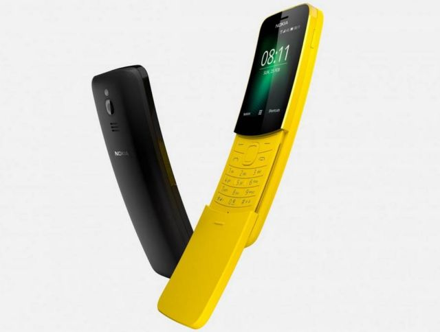 New Nokia 8110 banana phone