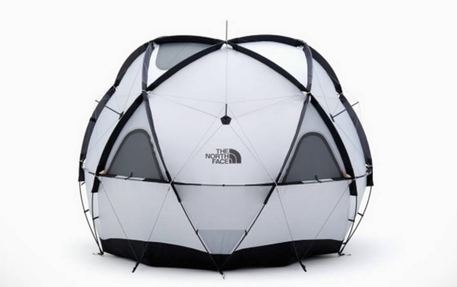 The North Face 'Geodome 4' tent (3)