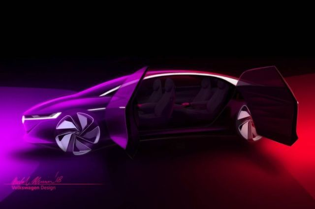 VW's I.D. Vizzion Self-Driving car