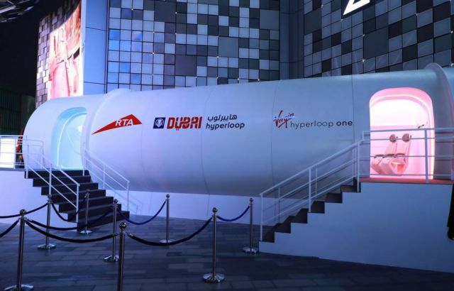 Virgin Hyperloop One prototype