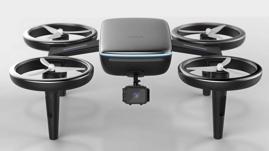 Volt – EV car charging drone service concept