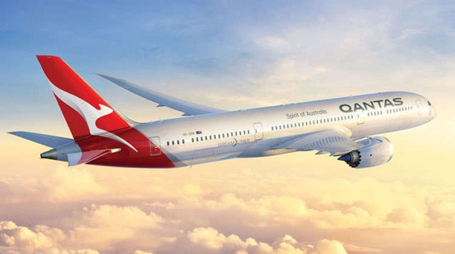 World's first Biofuel flight between the US and Australia