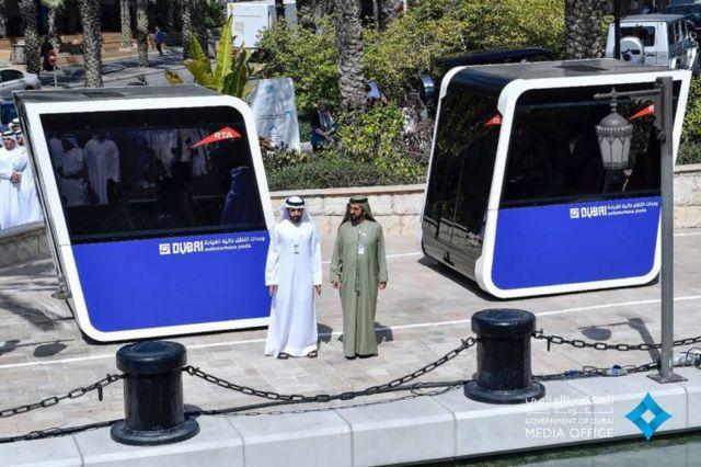 World's first autonomous Mobility Pods