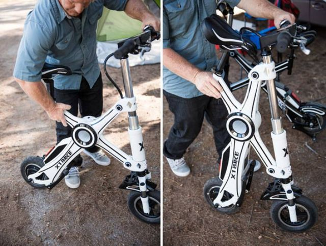 X1 Explorer Electric folding eBike (2)