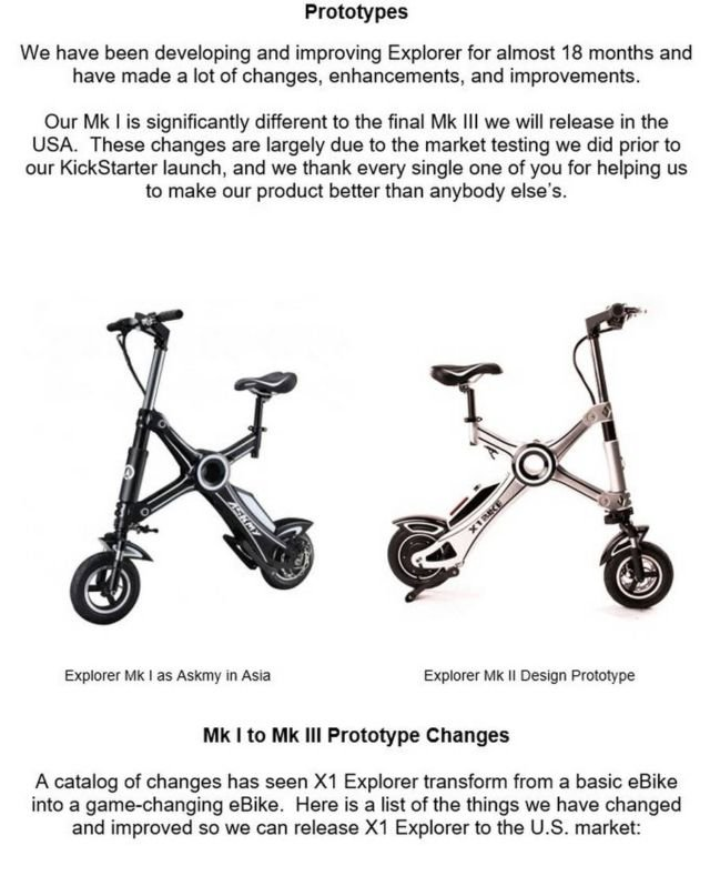 X1 Explorer Electric folding eBike (1)