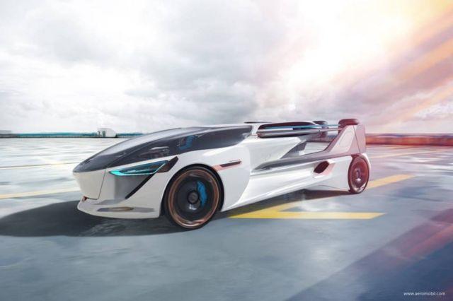 AeroMobil 5.0 VTOL Concept