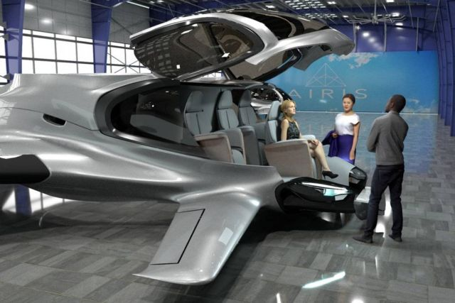 AirisOne autonomous 'air taxi'