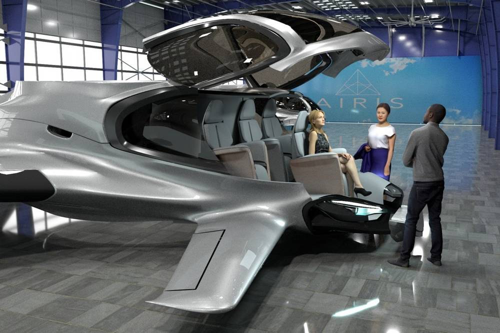 AirisOne autonomous 'air taxi' (6)