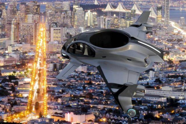 AirisOne autonomous 'air taxi' (5)