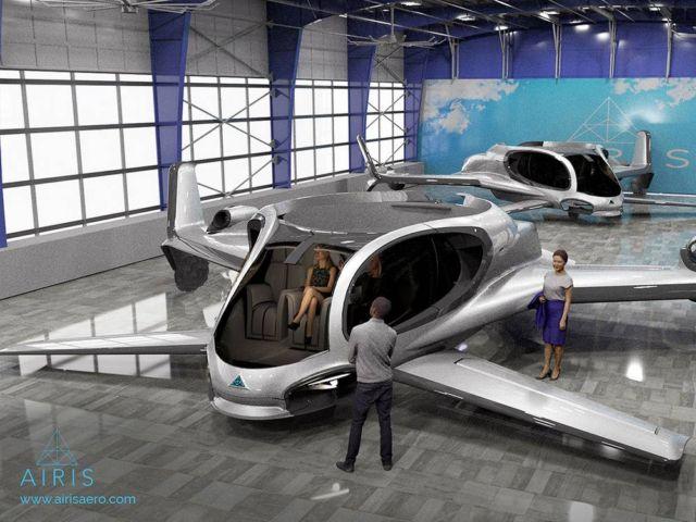 AirisOne autonomous 'air taxi' (3)