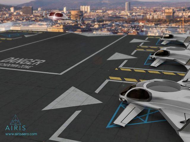 AirisOne autonomous 'air taxi' (2)