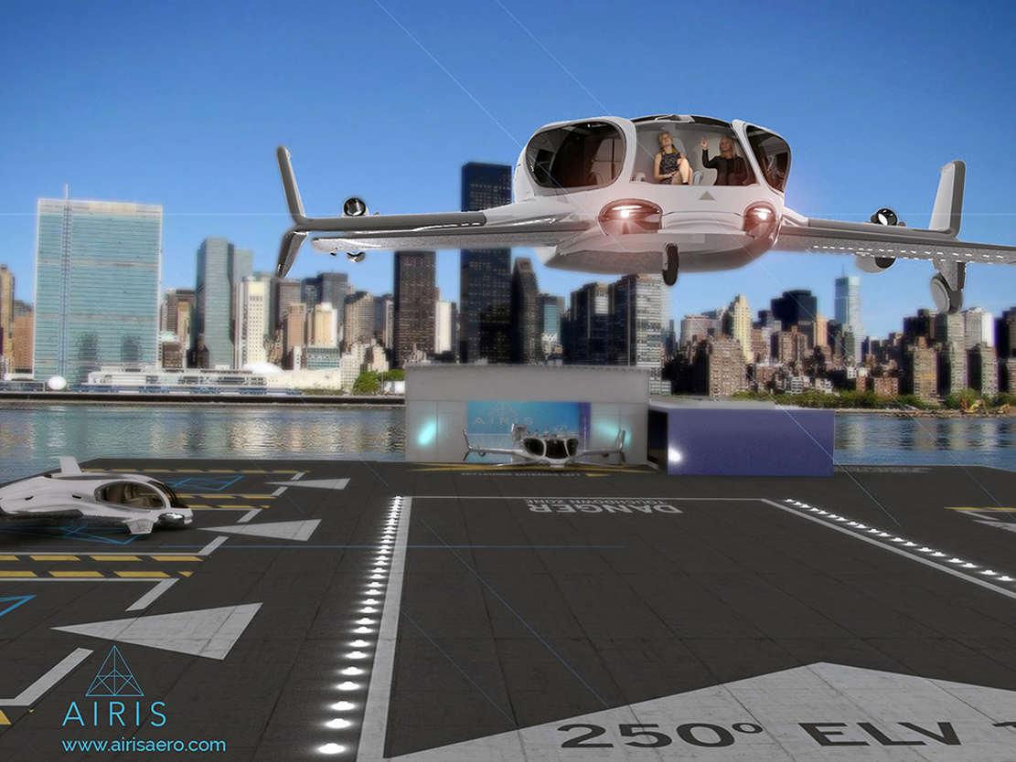 AirisOne autonomous 'air taxi' (1)