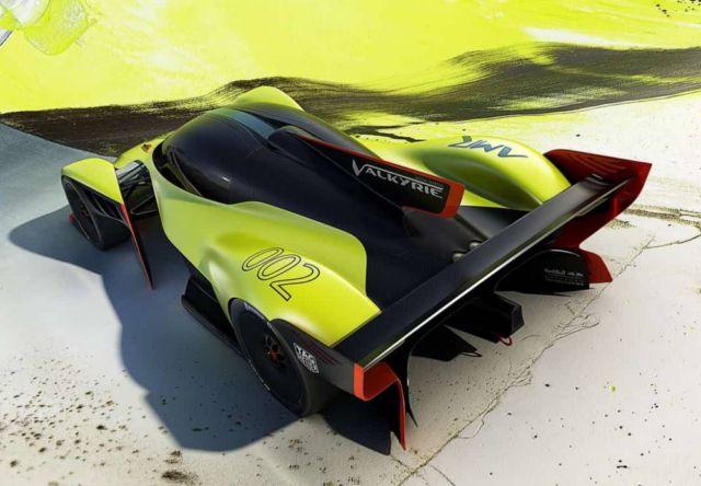 Aston Martin Valkyrie AMR Pro hypercar (6)