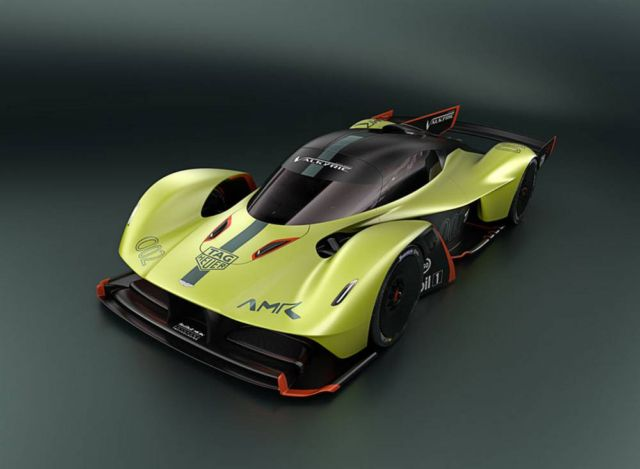 Aston Martin Valkyrie AMR Pro hypercar (5)